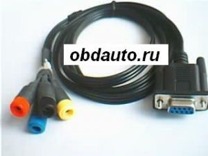 DB9P FEMALE TO BABABA JACK*4 ― OBD AUTO