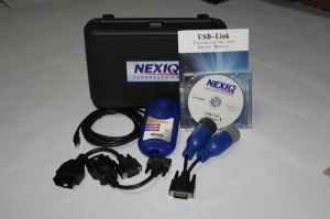 NEXIQ 125032 USB Link + Software Diesel Truck Diagnose Interface and Software with All Installers ― OBD AUTO