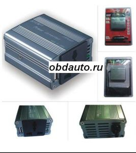 100W Automotive USB Inverter DC12V to AC 220V ― OBD AUTO