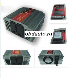 New 150W DC12V to AC 220V Power CAR USB INVERTER ― OBD AUTO