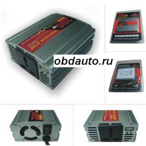 200W USB Car Inverter DC 24V to AC 220V ― OBD AUTO