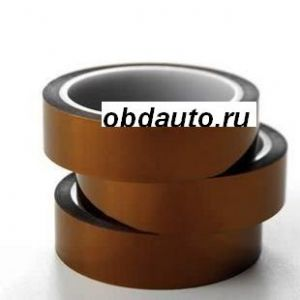 Brown high temperature plastic polyimide tape 20mm*33M ― OBD AUTO