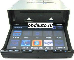 Multimedia Entertainment Car DVD Player support GPS Navigation  ― OBD AUTO