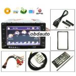 6.2 Inch LCD HD Car DVD Support GPS and TV Function + Free 2GB SD Card