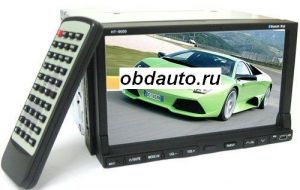 7 Inch TFT Color Screen Remote Control Car DVD Player with GPS  ― OBD AUTO
