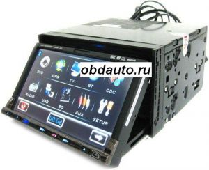 2 DIN Touch Screen Car DVD Theater+ GPS Navigation+ Entertainment System ― OBD AUTO
