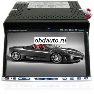 2 DIN 7 Inch LCD Car GPS Navigation Media Center Support Hands-free Function  ― OBD AUTO