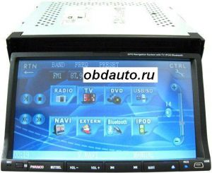 2 DIN Touch Screen Car DVD Player Support GPS Navigation  ― OBD AUTO