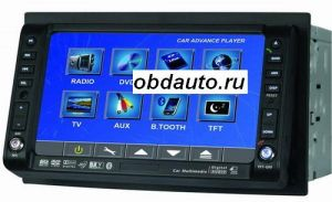 6.2 inch Touch Screen Car DVD - FM - SD - TV - 2DIN  ― OBD AUTO