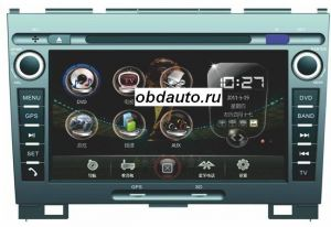 8 Inch Car DVD Player for GREAT WALL HOVER with GPS built in FM, bluetooth ,TV ― OBD AUTO