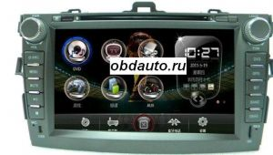 8 Inch Car DVD Player for TOYOTA COROLLA with GPS built in FM, bluetooth ,TV ― OBD AUTO