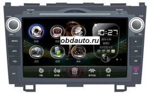 8 Inch Car DVD Player for HONDA CR-V with GPS built in FM, bluetooth ,TV ― OBD AUTO