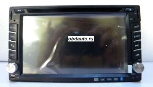 6.2 Inch Car DVD Player for Universal with GPS built in FM, bluetooth ,TV ― OBD AUTO